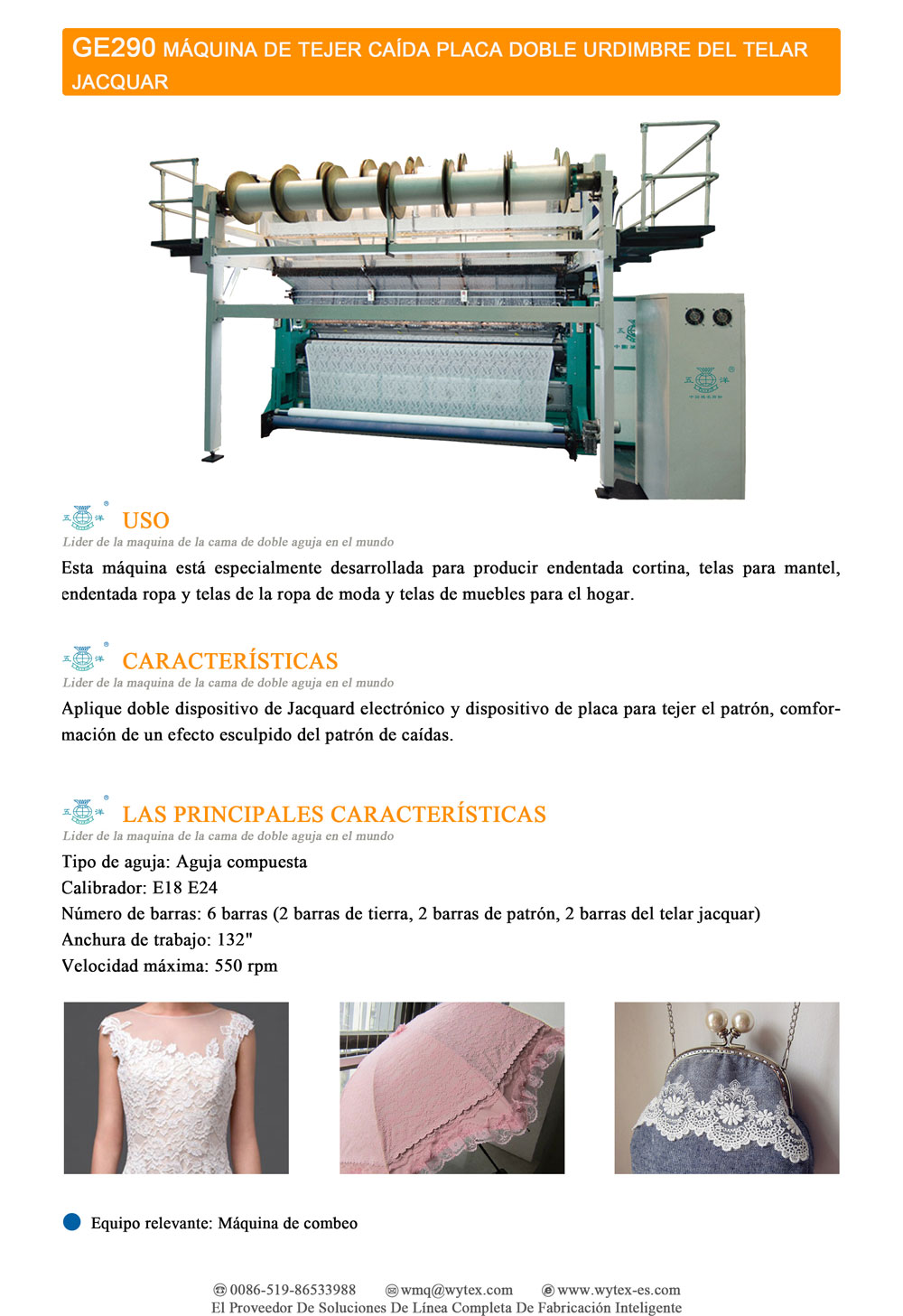 WuYang Textile Machinery Co., LTD (leader of the double needle bed ...